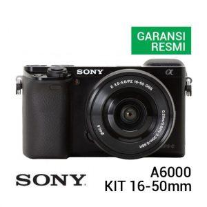 Sony A6000 Kit 16-50mm Hitam
