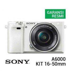 Sony A6000 Kit 16-50mm Putih