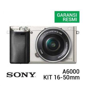 Sony A6000 Kit 16-50mm Silver