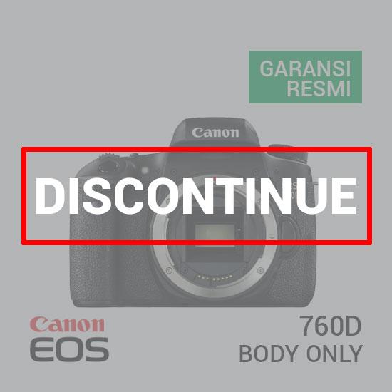 jual kamera Canon EOS 760D DSLR Camera Body Only harga murah surabaya jakarta