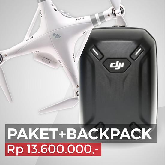 Jual DJI Phantom 3 Advanced (PAKET + BACKPACK)