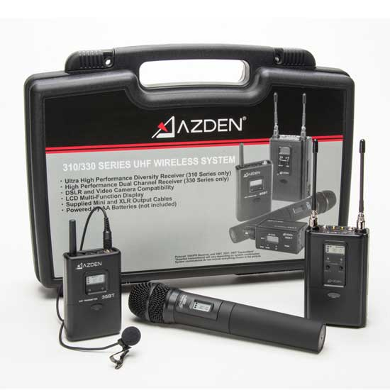 Jual Azden 330LH Dual-Channel Wireless System