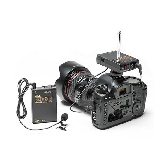Jual Azden WLX-PRO VHF Wireless Lavalier Microphone System