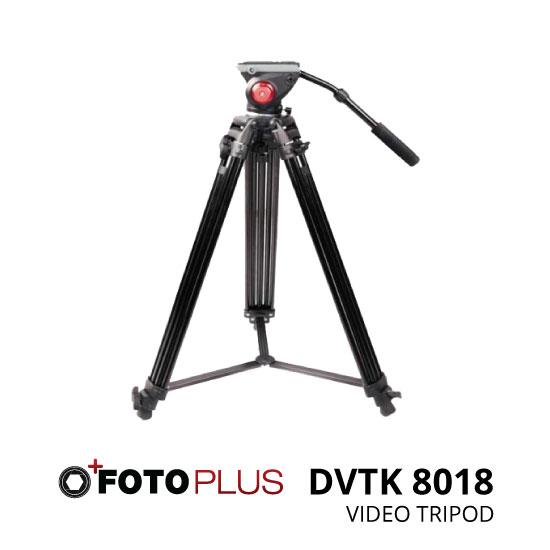 jual Fotoplus Tripod Video DVTK 8018