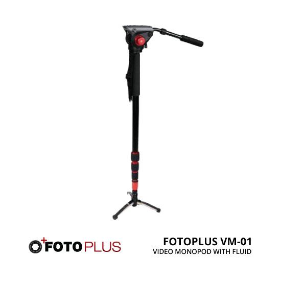 jual Fotoplus Video Monopod With Fluid Head VM-01