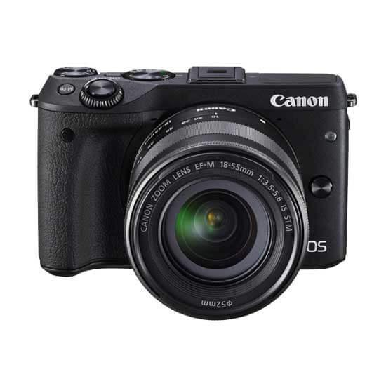 jual kamera Canon EOS M3 Kit EF-M 18-55 IS STM harga murah surabaya jakarta