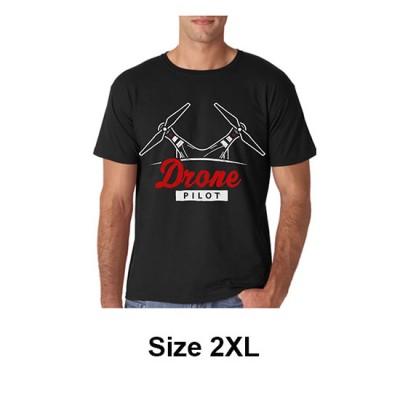 Jual T-Shirt Drone Pilot Size 2XL