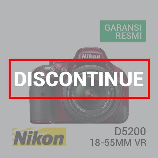 jual kamera Nikon D5200 Kit AF-S 18-55mm VR Red harga murah surabaya jakarta