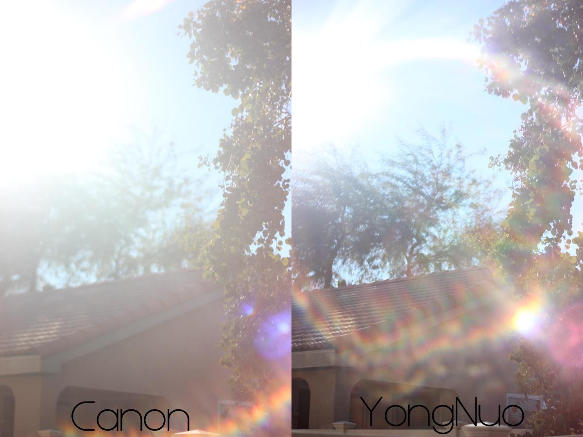 Canon VS YongNuo 7