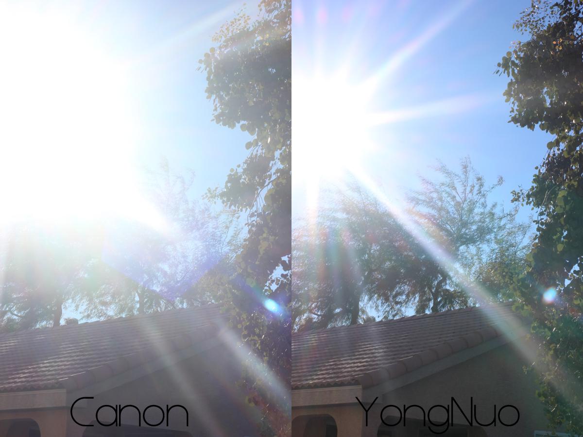 Canon VS YongNuo 8