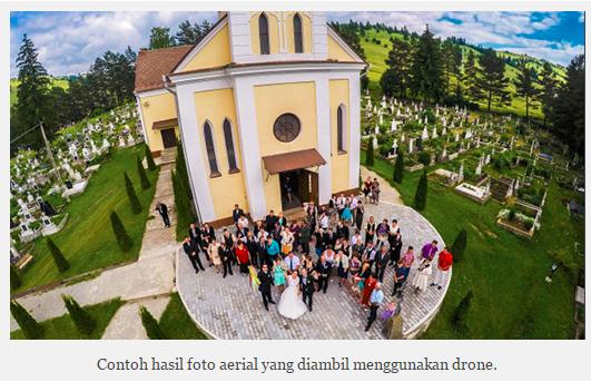 Foto Aerial atau Drone