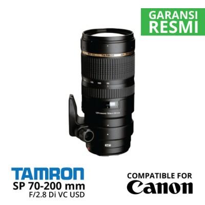 Jual Lensa Tamron Canon SP 70-200 mm Di VC USD F/2.8 untuk Canon Harga Murah Surabaya & Jakarta