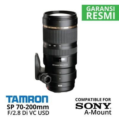 Jual Lensa Tamron Sony SP 70-200 mm Di VC USD F/2.8 Sony A-Mount Harga Murah Surabaya & Jakarta