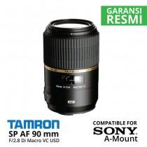 Jual Lensa Tamron SP AF 90 mm F2.8 Sony Di Macro VC USD A-Mount Harga Murah Toko Kamera Online