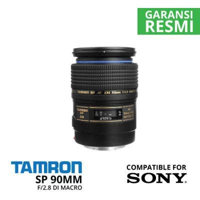 jual Tamron SP 90mm f/2.8 Di Macro Autofocus Lens for Sony