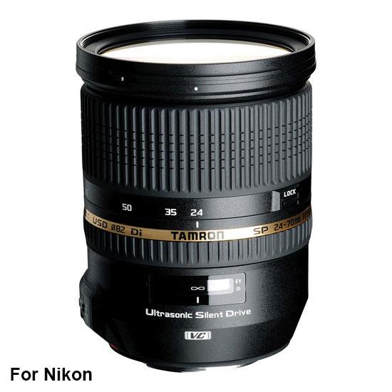 Jual Lensa Tamron SP 24-70 mm Nikon Di VC USD F/2.8 Harga Murah Surabaya & Jakarta