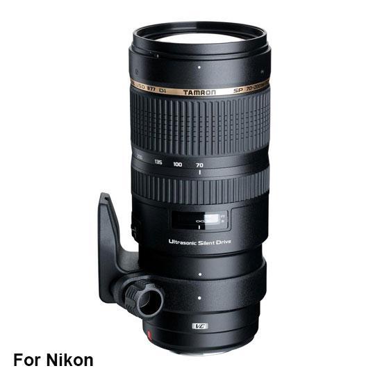 Tamron SP 70-200 mm Di VC USD F/2.8 Nikon