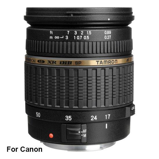 Jual Lensa Tamron SP AF 17-50 mm Canon F/2.8 Di II XR LD Harga Murah Toko Kamera Online