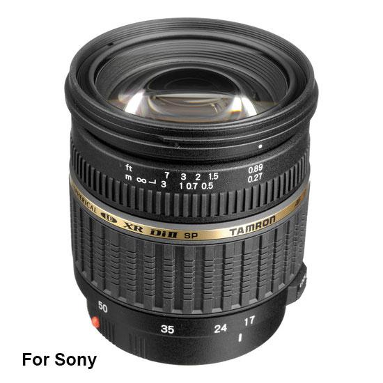Jual Lensa Tamron SP AF 17-50 mm F/2.8 Di-II XR LD Sony Toko Kamera Online Indonesia
