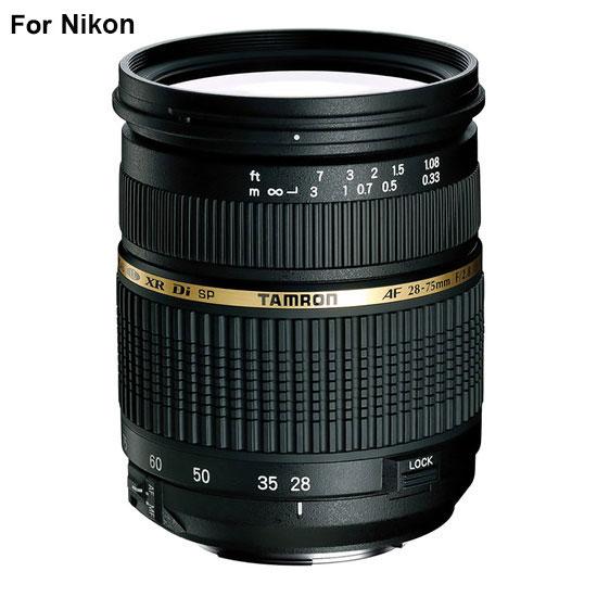 Jual Lensa Tamron SP AF 28-75mm f/2.8 Nikon XR Di LD Harga Murah Surabaya & Jakarta