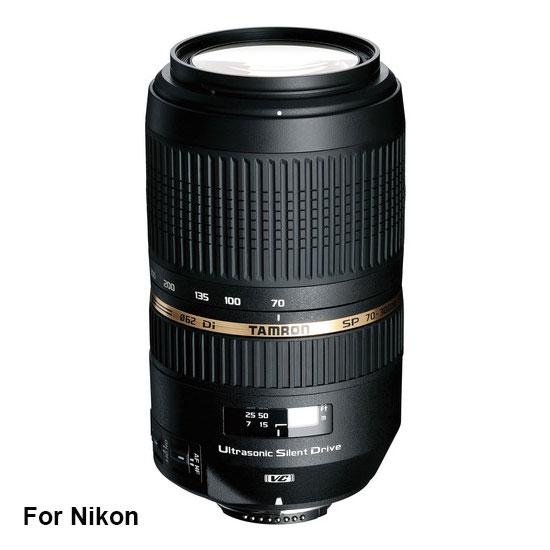 Jual Lensa Tamron SP AF 70-300 mm Nikon Di VC USD F/4-5.6 Harga Murah Surabaya & Jakarta
