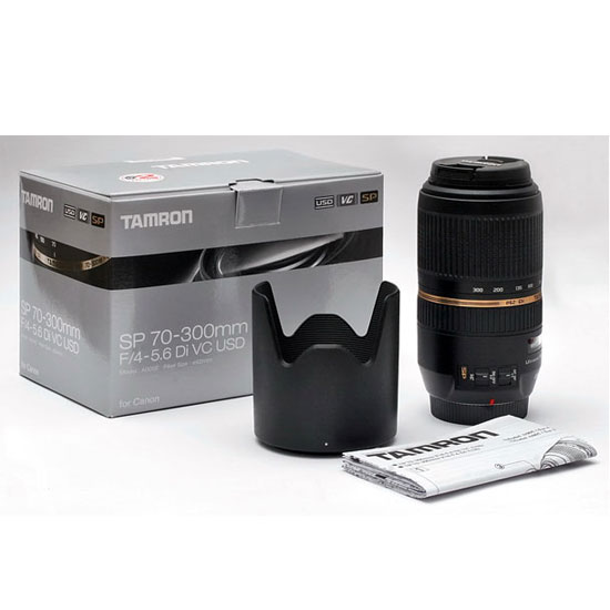Jual Tamron SP AF 70-300 mm Di VC USD F/4-5.6 For Canon
