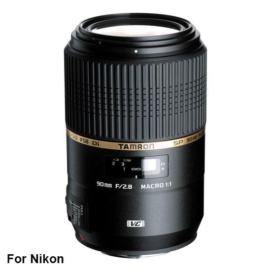 Jual Lensa Tamron SP AF 90 mm Di Macro VC USD F2.8 Nikon Harga Murah Surabaya & Jakarta