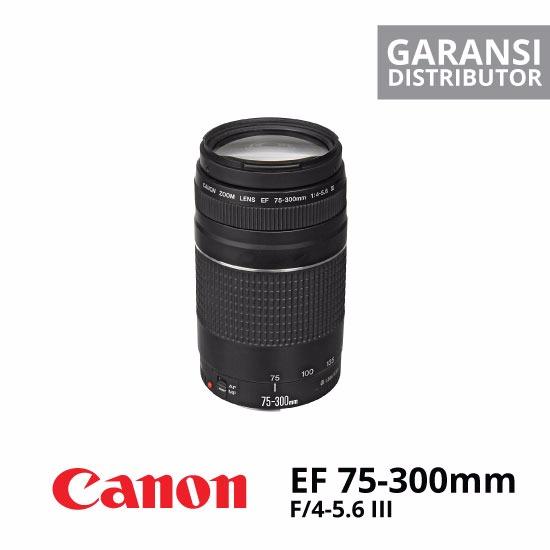 jual Canon EF 75-300mm f4-5.6 III