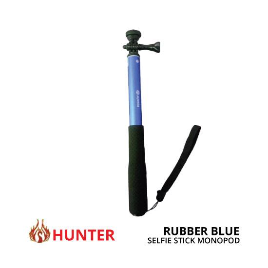 jual Hunter Seilfie Stick Rubber Biru