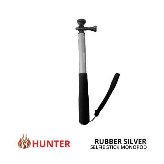 jual Hunter Seilfie Stick Rubber Silver
