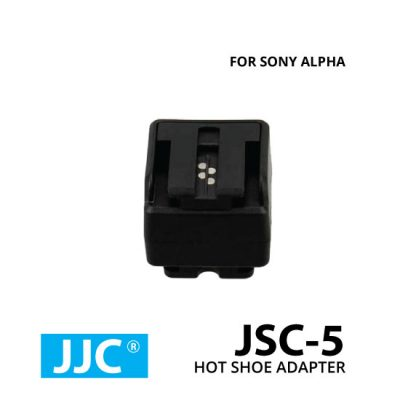 jual JJC JSC-5 Hotshoe Adapter From Universal To Sony Alpha