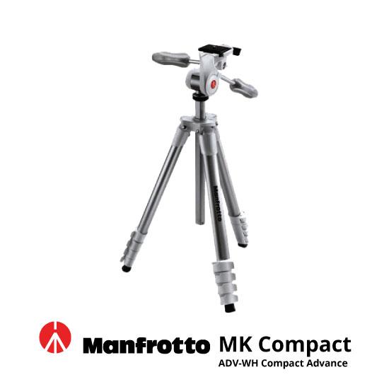 jual Manfrotto Tripod MK Compact ADV-WH Compact Advance