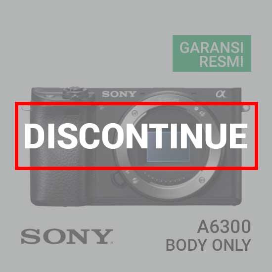 Jual Digital Kamera Mirrorless Sony A6300 Body Only harga murah