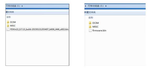 Update Firmware Xiaomi Yi Cam Offline