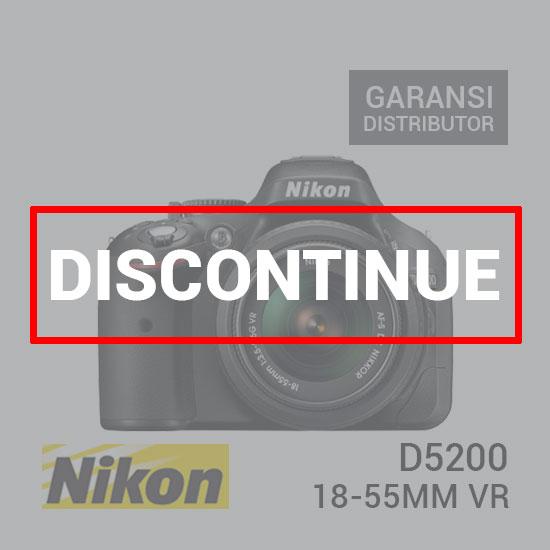 jual kamera Nikon D5200 Kit AF-S 18-55mm VR harga murah surabaya jakarta