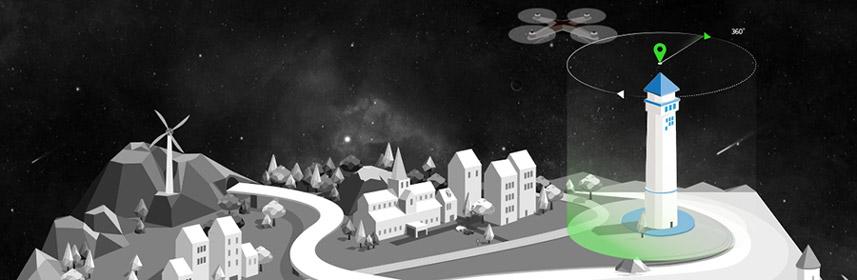 jual drone xiro xplorer v vision surabaya jakarta surabaya