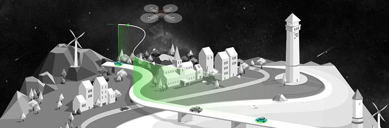 jual drone xiro xplorer v vision surabaya jakarta indonesia
