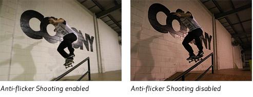 Canon EOS 80D Anti-Flicker