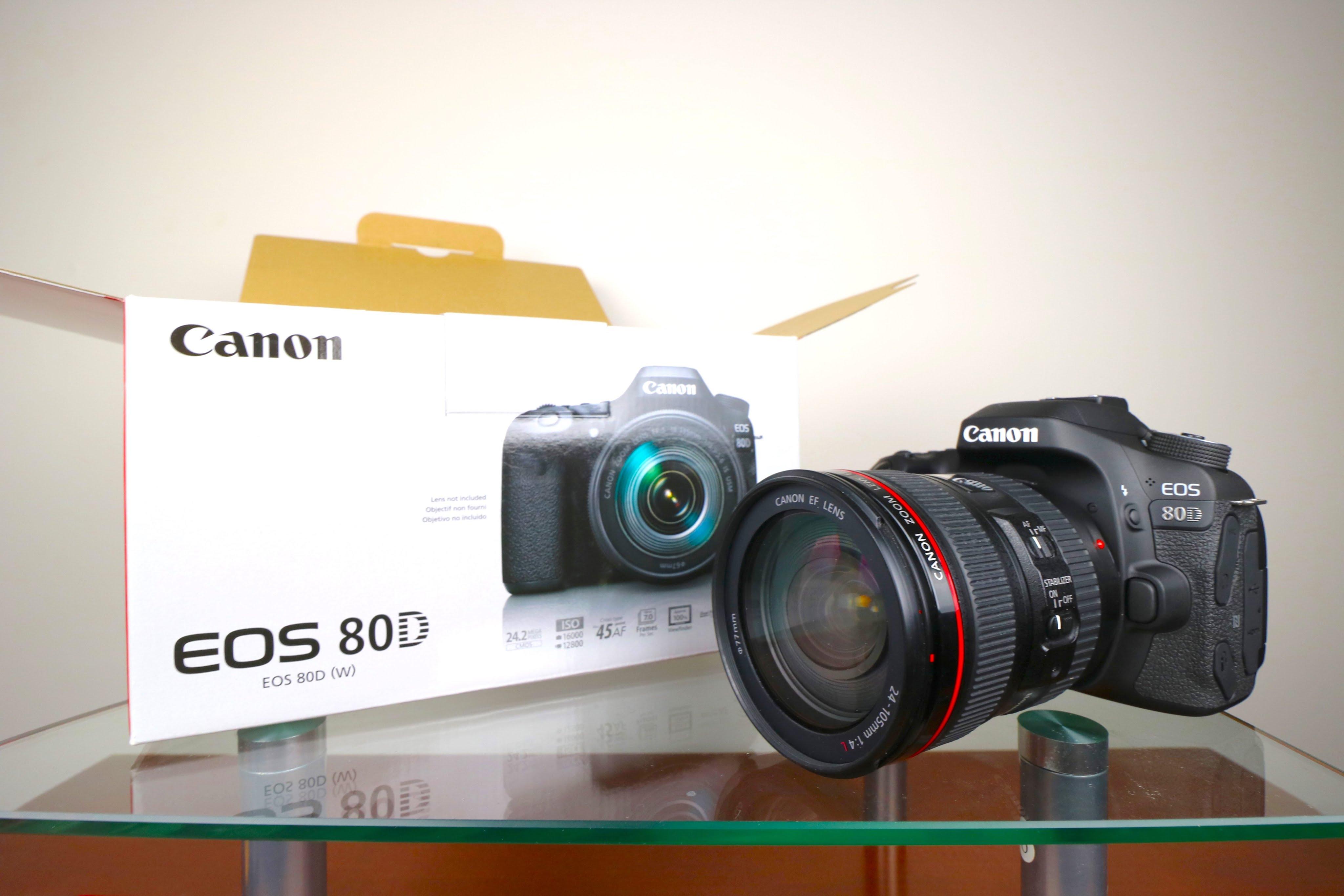 Canon EOS 80D Terbaru