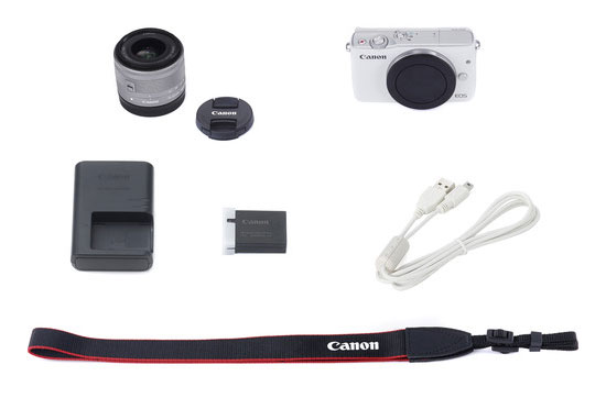 Jual Canon EOS M10 Kit EF-M15-45mm (White)