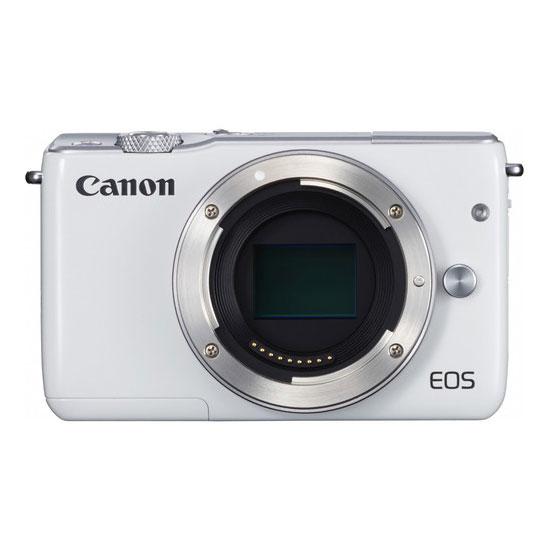Jual Canon EOS M10 Kit EF-M15-45mm (White) Surabaya & Jakarta
