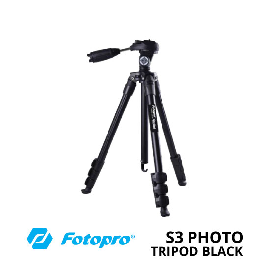 jual Fotopro S3 Photo Tripod Black