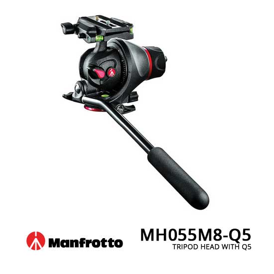 jual Manfrotto MH055M8-Q5 Tripod Head With Q5