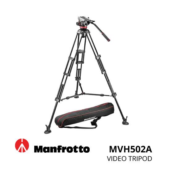 jual Manfrotto Tripod Video MVH502A,546BK-1,bag PN90 KIT