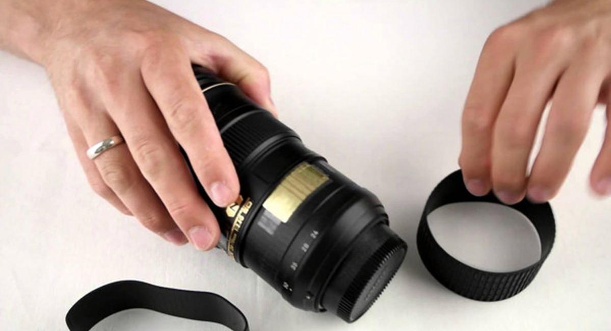 Mengatasi Karet pada Body Lensa yang Kendur