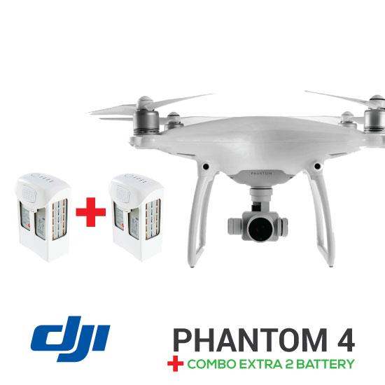 paket phantom 4 extra 2 battery