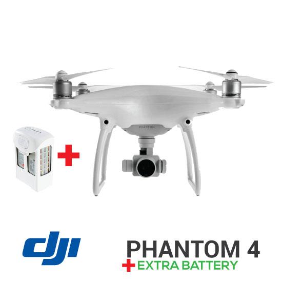 Jual DJI Phantom 4 Combo Extra Battery