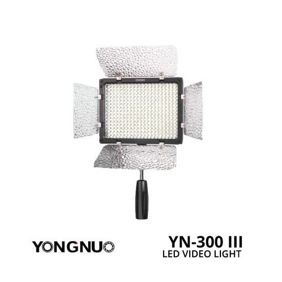 jual YongNuo LED Video Light YN-300 III