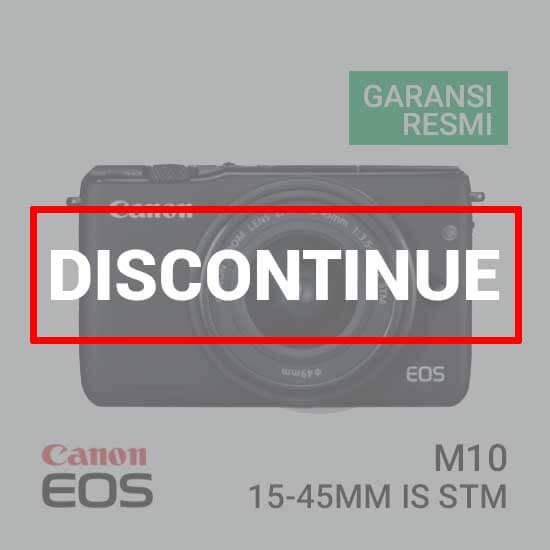 jual kamera Canon EOS M10 Black Kit EF-M15-45mm harga murah surabaya jakarta