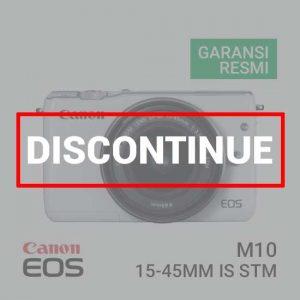 jual canon eos-m10-kit-ef-m15-45mm-white harga murah surabaya jakarta